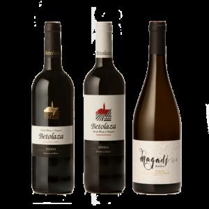 Pack Degustación 3 vinos